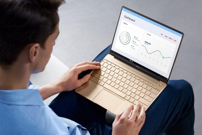 Sukces sprzedażowy Huawei MateBook X