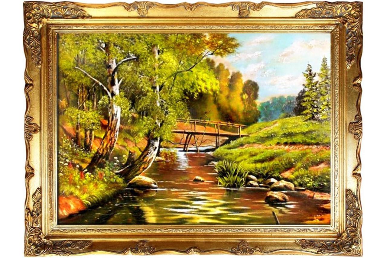 Najnowsze Pejzaże malarskie – krajobraz wiosenny - HydraPortal.pl YV16